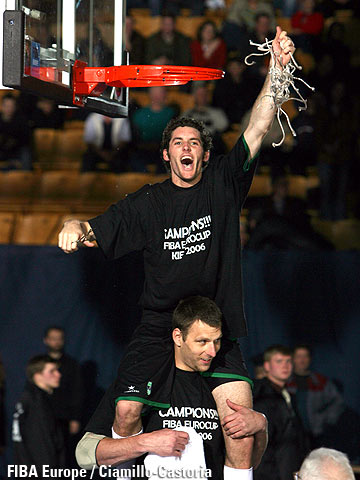 MVP of the EuroCup Final Four 2006: Rudy Fernandez (DKV Joventut Badalona)